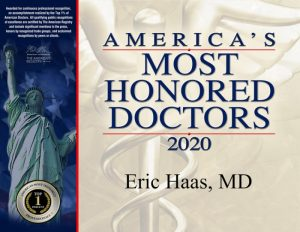 America's Most Honored Doctors 2020